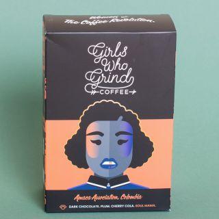 Girls Who Grind Coffee - Amaca Association, Colombia, Washed - Espresso (Ground)