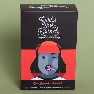 Girls Who Grind Coffee - Karin Hernandez, Guatemala, Washed - Wholebean
