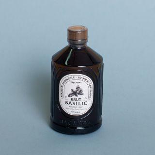 Bacanha Sirop de Basilic Brut - Biologique / Basil Syrup