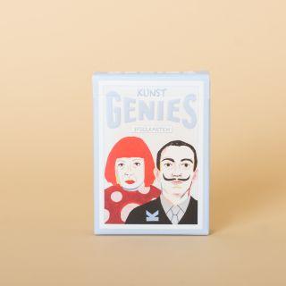 Kunst Genies Spielkarten