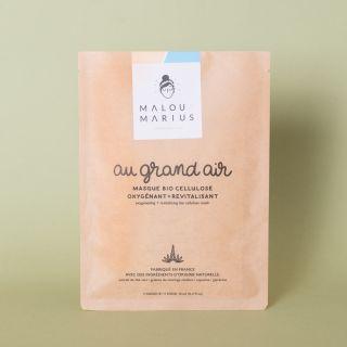 "Malou et Marius Face Mask ""Au grand Air"" Femme: Oxygenating & Conditioning"