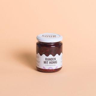 Suur Randen mit Honig in Rotweinessig