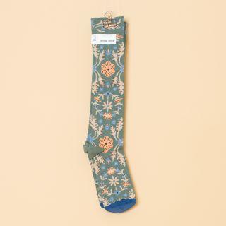 Bonne Maison Socks Knee- Highs Cedar Tapestry