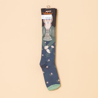 Bonne Maison Socks Knee-Highs Umber Braid