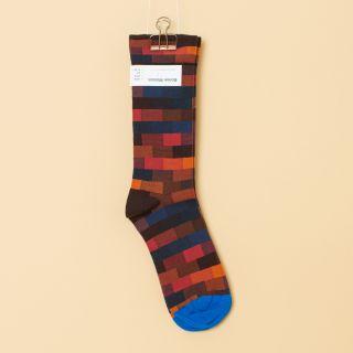 Bonne Maison Socks Multico Brick