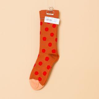 Bonne Maison Socks Pumpkin Polka Dot