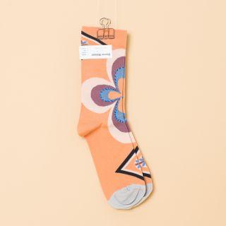 Bonne Maison Socks Adobe Rosette