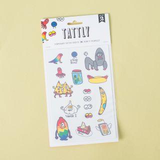 Tattly Temporary Tattoos Goofy Doodles