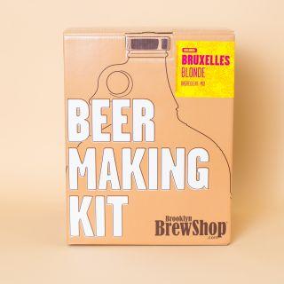 Brooklyn Brew Shop BRUXELLES BLONDE® Beer Making Kit