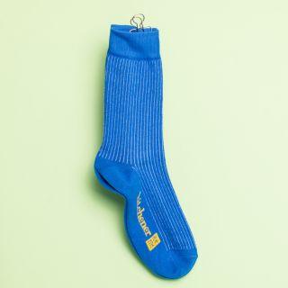 Kitchener Items Socks - Ribbed Nizza Blue