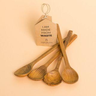 Original Home Just Spoon Reclaimed Teak Set of 4