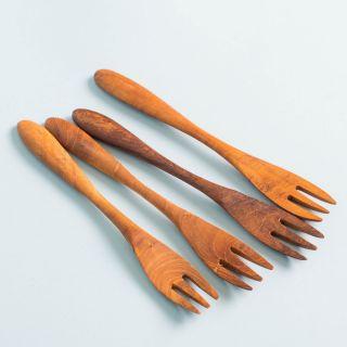 Original Home Fork Reclaimed Teak Set of 4