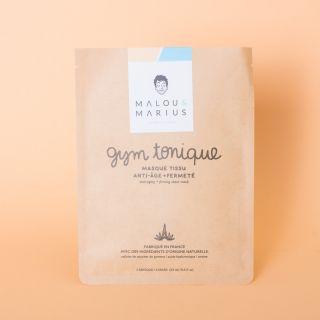 """Malou et Marius Face Mask """"Gym Tonique"""" Homme: Anti-aging & Firming"""
