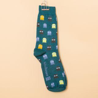 Kitchener Items Socks Pacman Dublino Green & Multicolour