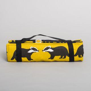 Anorak Large Picnic Blanket Kissing Badgers