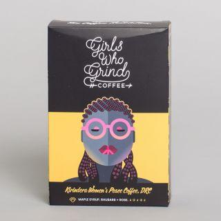 Girls Who Grind Coffee - Kirindera Women's Peace Coffee, DRC, Washed (Ground)