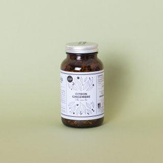 GreenMa - Citron Gingenbre: Organic Lemon & Ginger Infused Black Tea 70g