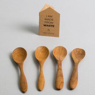 Original Home Spoon Reclaimed Teak Set of 4