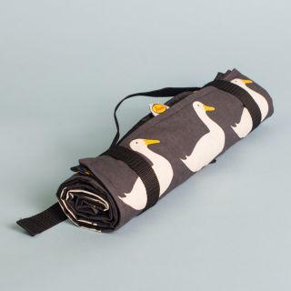 Anorak Picnic Blanket Waddling Ducks