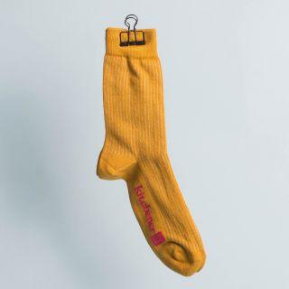 Kitchener Items Socks - Ribbed Zurigo Mustard