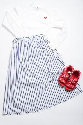 Chloe Stora Blue Skirt