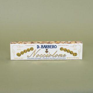 D. Barbero Morbido Con Nocciola Piemonte I.G.P. / Soft Nougat Bar with Hazelnuts 260g