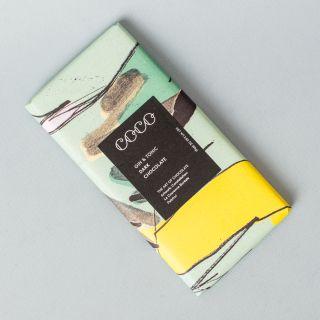 COCO Gin & Tonic Vegan Dark Chocolate 80g
