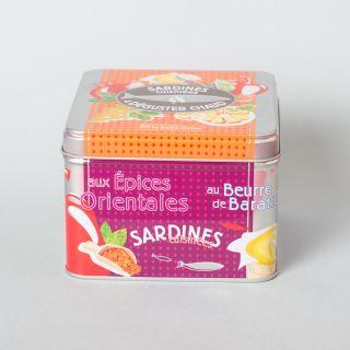 La Belle-Iloise Sardines Cuisinées à Déguster Chaud