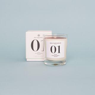 Bon Parfumeur Candle 01: Basil, Fig Leaves, Mint