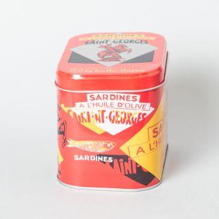 La Belle-Iloise Sardines Saint-Georges à l'huile d'olive - Lot de 5 boîtes