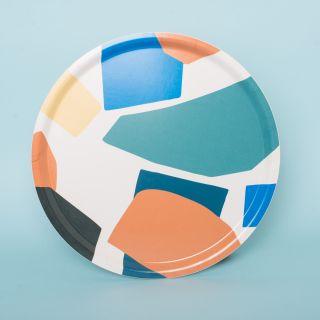 Wrap Art Tray Mosaique Round