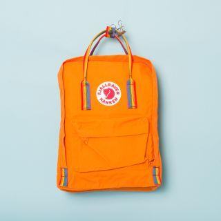 Fjällräven Kånken Backpack 212-907 Burnt Orange - Rainbow Pattern
