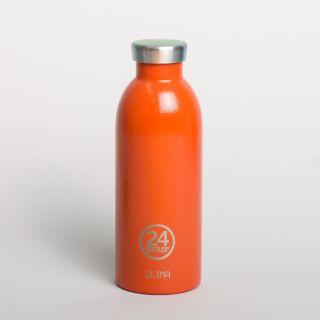 24Bottles Clima Bottle Sunset Orange 500ml