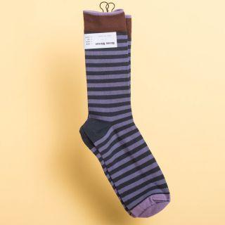 Bonne Maison Socks Night Stripe