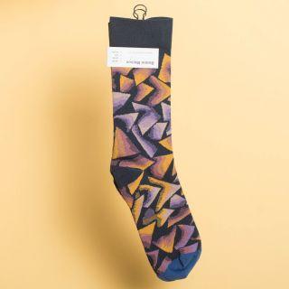 Bonne Maison Socks Night Triangle