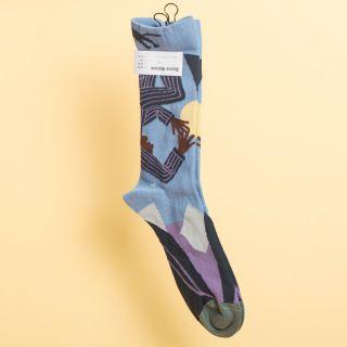 Bonne Maison Socks Storm Nightmare