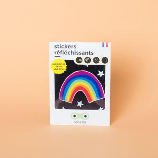 "Rainette Petit Reflective Bicycle Stickers ""Rainbow"""
