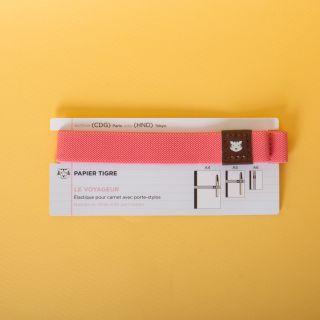 """Le Voyageur"" Notebook Strap with Pen Holder Tokyo"