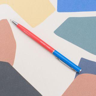 "Papier Tigre ""Stylo-Bille"" Ball Point Pen Red/Blue"