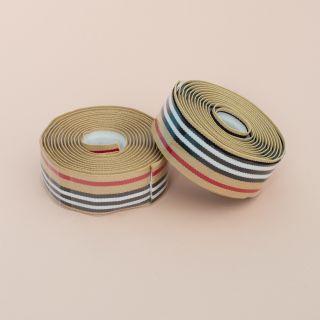 Supreme Pro Woven Bar Tape - Stripes Berry