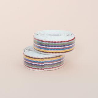 Supreme Pro Woven Bar Tape - Rainbow