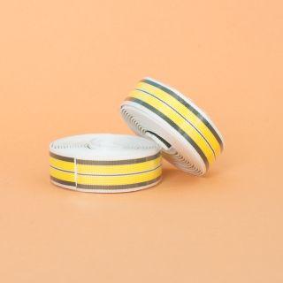 Supreme Pro Woven Bar Tape - Stripes Yellow