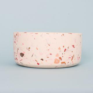 Les Pieds de Biche - Le Saladier Terrazzo - Rose Blanc