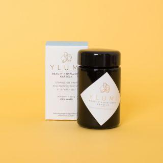 Ylumi Beauty X Hyaluron Kapseln: Inner Skin Glow Formel
