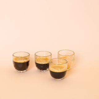 La Rochère Troquet Assorted Espresso Glasses Set/4