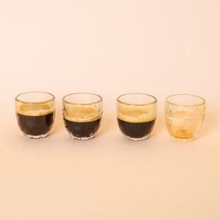 La Rochère Troquet Assorted Espresso Cups Set/4