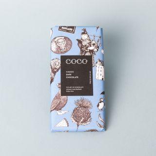 Coco Haggis Dark Chocolate 80g