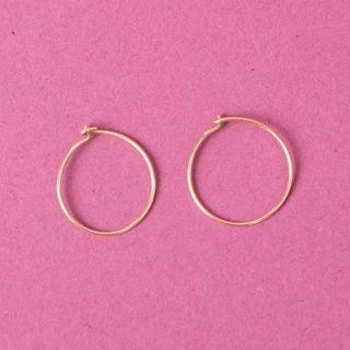 Saskia Diez No1 Wire Ear Gold