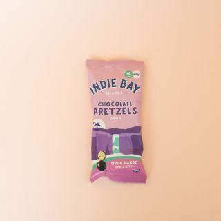 Indie Bay Snacks - Dark Chocolate Healthy Pretzel Bites 31g