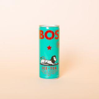 BOS Organic Ice Tea Lime & Ginger 250ml